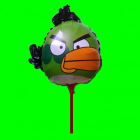 Balon Angry zielony -14 cali