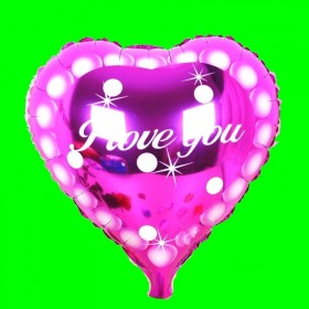 serce-love-różowe