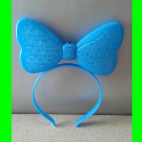 Opaska-świecąca-niebieska-kokarda-ażur