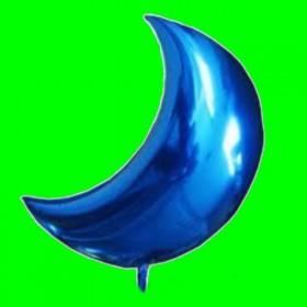 Balon księżyc granat
