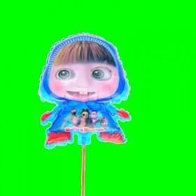 Balon masza niebieska