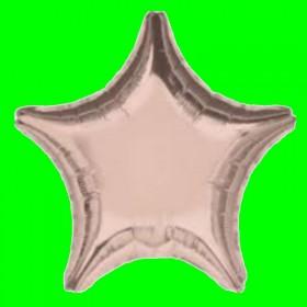 Balon gwiazdka stare złoto
