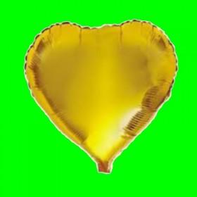 Balon serce złote 32 cal