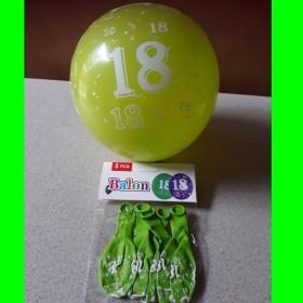 Balon-zielony-18-urodziny