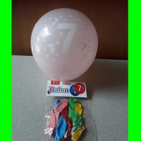 Balon cyfra-7-