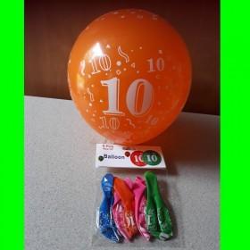Balon cyfra-10-