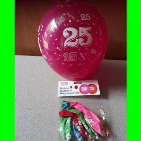 Balon cyfry-25-