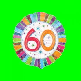 Balon -60 urodziny