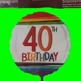 Balon -60 urodziny-birthday