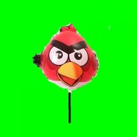 Balon angry czerwone