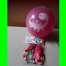 Balon  dinozaur-5 szt-op