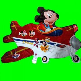 Balon myszka w samolocie