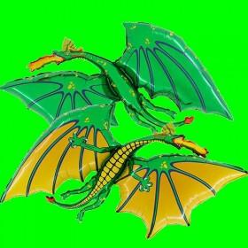 Balon smok zielony