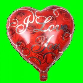 Balon Serce I Love You