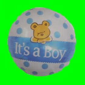 Balon narodziny chłopca