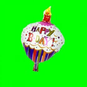 Balon happy-muffinka