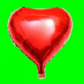Balon  serce czerwony 24 cal