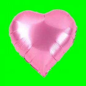 Balon serce różowe 24 cal