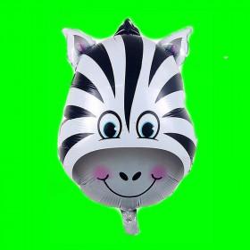 Balon zebra