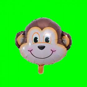 Balon głowa małpki