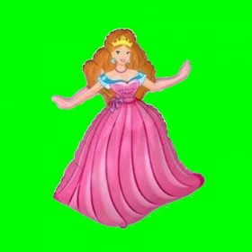 Balon księżniczka