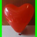 balon serce czerwone-30 cm