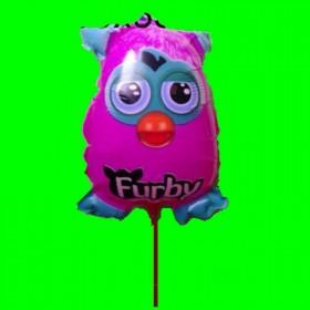 balon furby na patyku