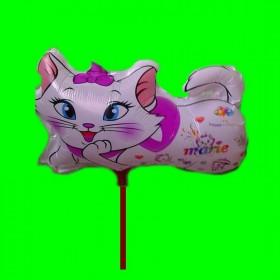 balon kotek biały 30 cm