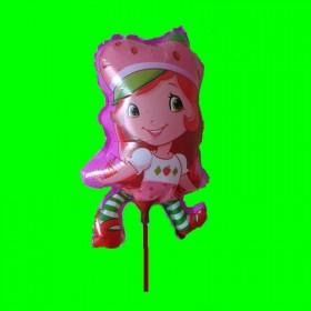 Balon truskawkowe ciasteczko-30 cm