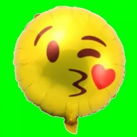 Balon Emotikon - Całus