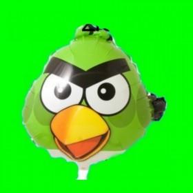 Balon Angry zielony 55 cm