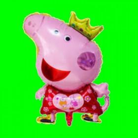 Balon Peppa w koronie 60 cm
