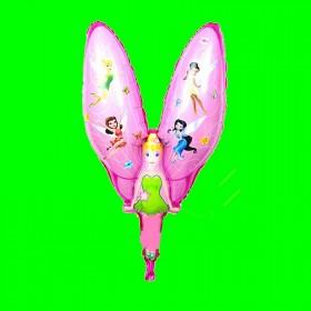 Balon Dzwoneczek różowy 70 cm