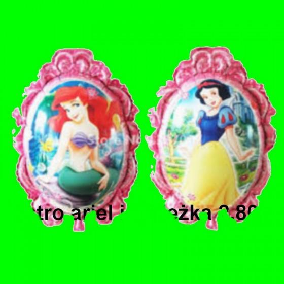 Balon Lustro Ariel i Śnieżka 70 cm