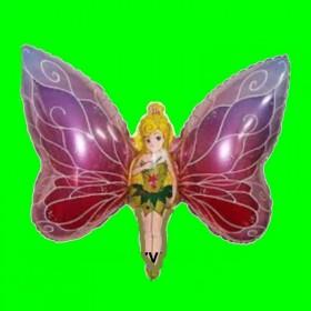 Balon Motyl dziewczynka  80 cm