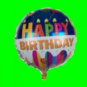 Balon świeczki urodzinowy-45 cm