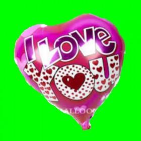 Balon serce i love