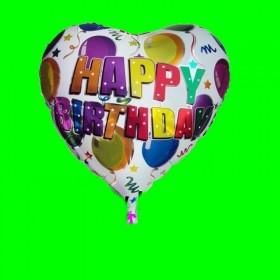 Balon foliowy urodzinowy w baloniki