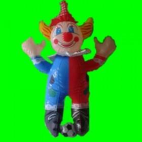 Dmuchana zabawka-klaun