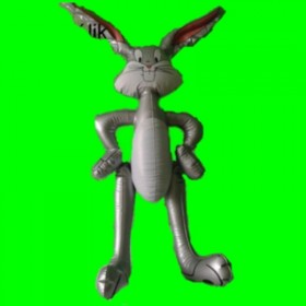 Dmuchana zabawka-królik