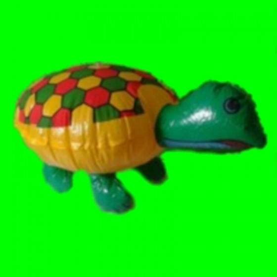 Dmuchana zabawka-żółw