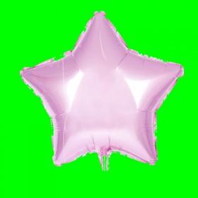 Balon gwiazdka-różowa