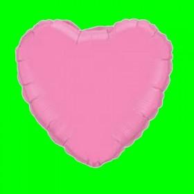 Balon serce-różowe