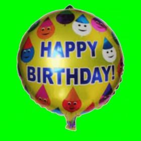Balon urodzinowy-pajacyki