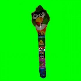 Balon angry zielone