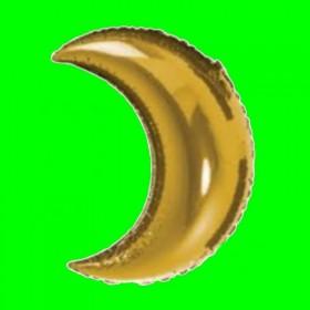 Balon księżyc złoty