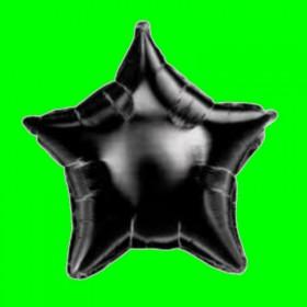 Balon gwiadka czarna
