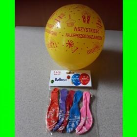 balon-wszystkiego najlepszego  5 sztt