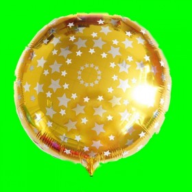 Balon złoty w gwiazdki