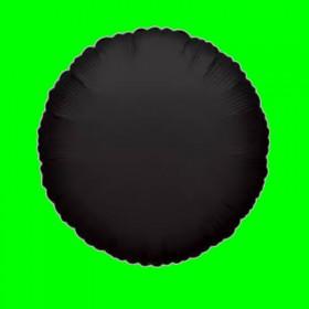 Balon czarny okrągły